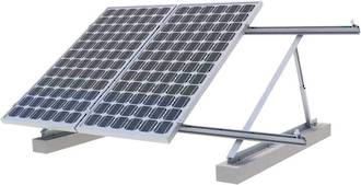 Solar Panel Array Frame